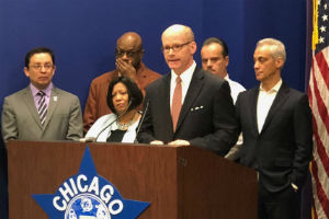 Harmon, activists urge governor to sign Gun Dealer Licensing Act